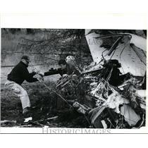 1993 Press Photo Rick Dominy and David Purtill of Federal Aviation Admin