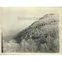 1925 Press Photo Stony Mountain - ney01089