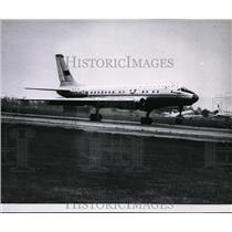 Press Photo The TU-104 Russian Passenger Jet at London Airport - spx03033