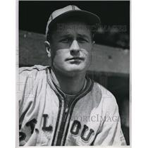 1944 Press Photo Jack Kramer Pitcher for St. Louis Browns - cvs01432