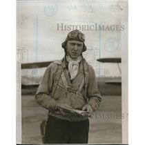 1933 Press Photo Pilot MH Fay - neb41223