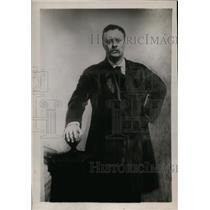 1913 Press Photo Portrait Painting of Theodore Roosevelt by John S Sargent