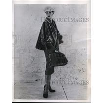 1956 Press Photo Princeton's Mutation, a lightweight and warm jacket