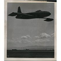 1946 Press Photo Lockheed P-80 Shooting Star jet propelled plane - spx04276