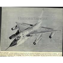 1969 Press Photo Delta-Winged jet bomber developed for strategic air command