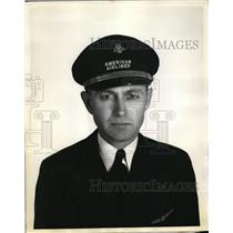 1938 Press Photo Sherman Luther Willard 1st Pilot American Airlines - ney01721