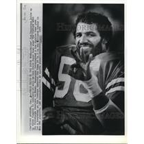 1979 Press Photo Tom Henderson of Dallas Cowboys to play his 3rd Super Bowl