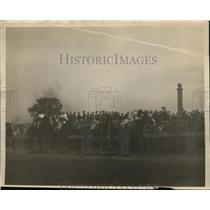 1927 Press Photo Kentucky Derby race at Churchill Downs