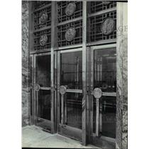 1980 Press Photo Bank Buildings