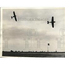 1935 Press Photo All American Air Manuevers at Miami Florida