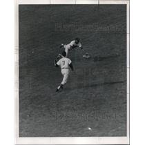 1967 Press Photo Senators Fred Valentine & Cap Peterson vs White Sox