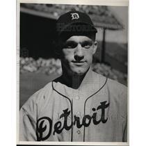 1940 Press Photo John Gorsica of Detroit Tigers