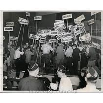 1938 Press Photo LA American Legion convention & election of Commander