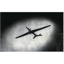 1975 Press Photo US Pilotless Air Force plane at Canaveral Air Force Station