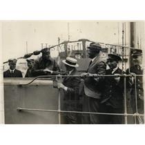 1925 Press Photo Commander LGL van der Kun on Dutch sub K-XIII in CA - nem31314