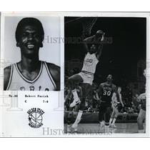 1978 Press Photo Robert Parish of Golden State Warriors in action - nes46041