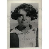 1929 Press Photo Miss Thelma Christher a bank bandit - nem32439