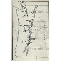 1929 Press Photo Air photograph of Washington state - nem32356