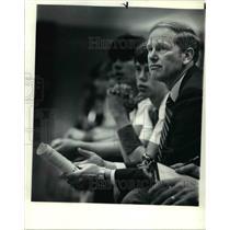 1983 Press Photo Laker coach Sonny Long - ora54062