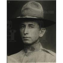1925 Press Photo Gilbert Warren Barbie wounded WW I veteran found dead
