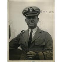 1929 Press Photo Captain Steve Edwards radio operator on Fouck's flight