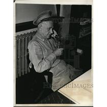 1933 Press Photo Colonel Richard O Williams Commander 7th Regiment USMC