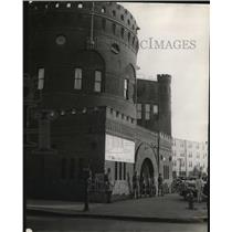 1934 Press Photo Sentries on duty at Toledo Armory of National Guard in Ohio