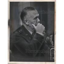 1945 Press Photo General George Catlett Marshall ex US Army Chief of Staff