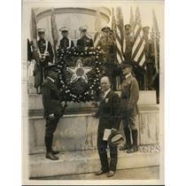 1927 Press Photo Gen John Le Jeune, Asst Secretary of War H MacNider