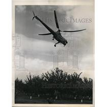 1947 Press Photo San Jose CA Army Sikorsky copter of Air Rescue squadron