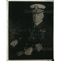 1930 Press Photo Rear Admiral Henry J Ziegemeir 13th US Naval District in WA