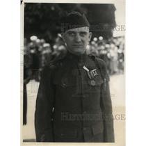1930 Press Photo Arlington National Cemetary Sgt Edward S Younger