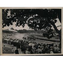 1938 Press Photo 13th annual Hambletonian at Good Time track Goshen NY