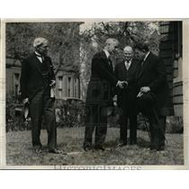 1933 Press Photo Cordell Hull J Ramsay MacDonald Richard Bennett Edouard Herriot