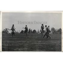 1931 Press Photo Scottis Women's field hockey at Westchester County Rye NY