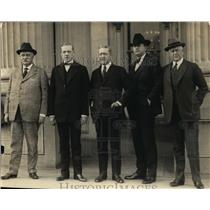 1923 Press Photo Newly appointed Senate committee on forest protection