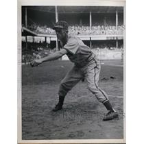 1946 Press Photo Alpha Brazle St Louis Cardinal pitcher