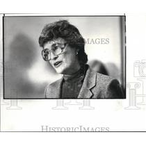 1982 Press Photo Daisy Ford President of Women speak for Peace and Justice