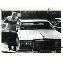 1986 Press Photo Million Dollar Lottery Winner Bob Keys - cva23548