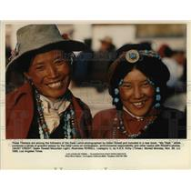 1992 Press Photo Tibetans Are Among The Followers Of The Dalai Lama  - cva20185