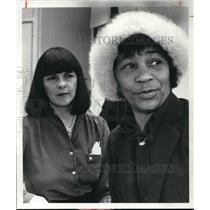 1981 Press Photo Grace Kudukis and Mildred Madison - cva27475