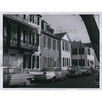 1960 Press Photo Du Bose Heyward home in Church Street, Charleston - cva27551