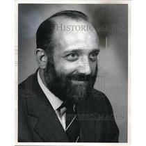 1973 Press Photo Risteard O. Glaisne, model teacher in St Patrick's in Dublin