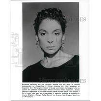 1998 Press Photo Jasmine Guy spokesperson Perspectives in African American art