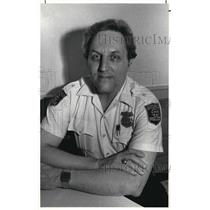 1984 Press Photo New Gates Mills Police Chief George Hughes - cva18311