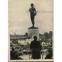 1922 Press Photo President Harding dedicated the bronze memorial - cva22591