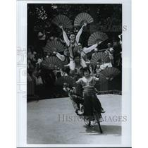1984 Press Photo Sea World's Nautilus Theater welcomes the Chinese acrobats