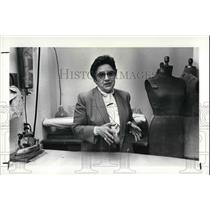 1987 Press Photo Marjorie Kempner at Her Dress Shop - cva26017