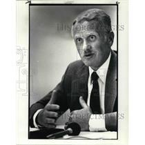 1984 Press Photo Joseph S Koziol Mentor Police Chief call off for Drunk Drivers
