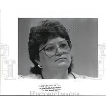 1988 Press Photo Colleen M. Gallagher Comm. of the AIDS Housing Council
